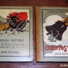 Libros antiguos: CUENTOS VIVOS ILUSTRADOS POR APELES MESTRES 1929 ( LIBROS ILUSTRADOS INFANTILES) APEL·LES MESTRES. Lote 74717331