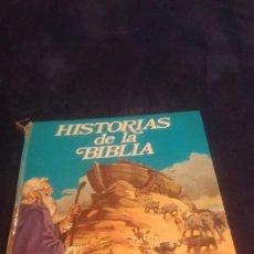 Libros antiguos: HISTORIAS DE LA BIBLIA CUENTOS FHER 1974. Lote 74873507