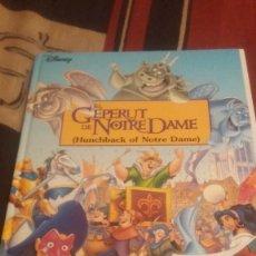 Libros antiguos: EL GEPERUT DE NOTRE DAME- EDICIO CATAL /ANGLES. Lote 75196015
