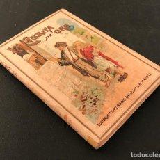 Libros antiguos: LA CABRITA DE ORO - CUENTOS SATURNINO CALLEJA - BIBLIOTECA ILUSTRADA PARA NIÑOS V - MENDEZ BRINGA. Lote 75530959