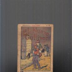Libros antiguos: EL NUEVO GULLIVER, BIBLIOTECA COLORÍN Nº 2. Lote 75623079