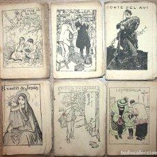 Libros antiguos: LOTE 6 CUENTOS EN PATUFET NÚM. 498, 500, 512, 545, 546 Y 557.. Lote 75656943