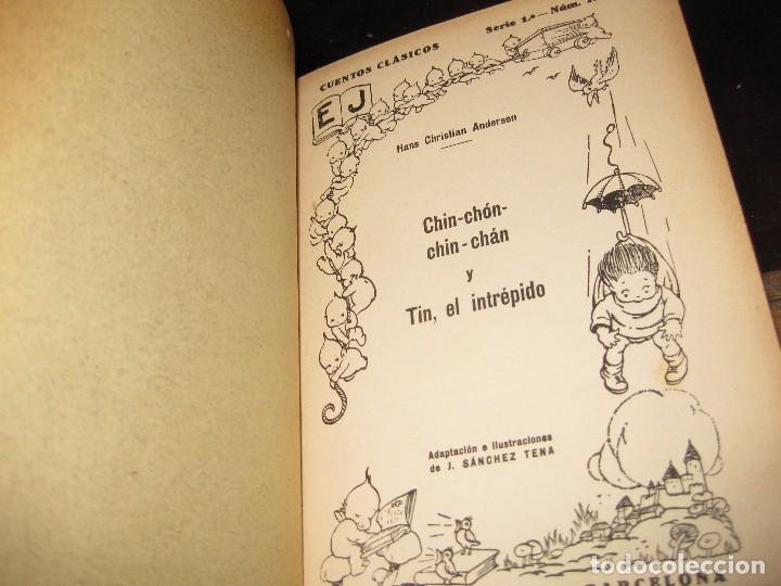 Libros antiguos: 2 cuentos clasicos . leandro . bella bella . chin chon chin chan ed juventud 1931 - 32 andersen 1 ed - Foto 2 - 75740779