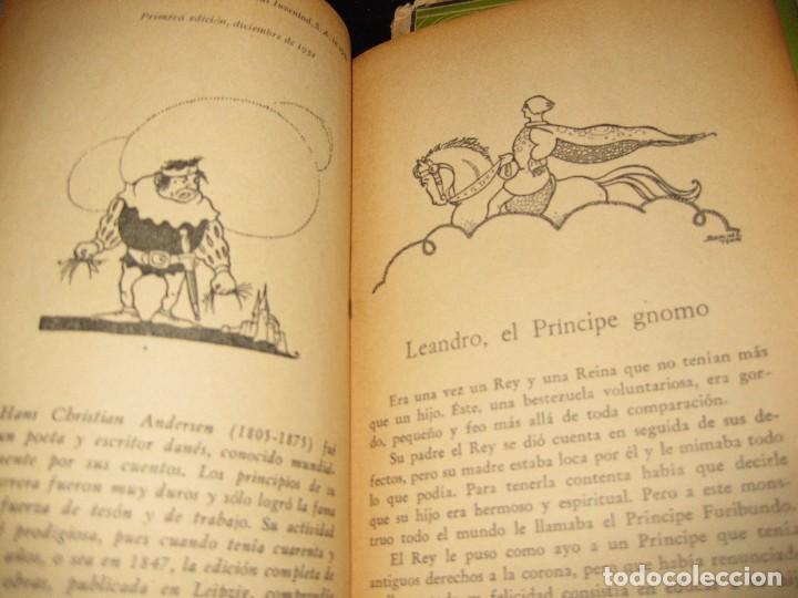 Libros antiguos: 2 cuentos clasicos . leandro . bella bella . chin chon chin chan ed juventud 1931 - 32 andersen 1 ed - Foto 4 - 75740779