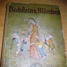 Libros antiguos: PRECIOSO LIBRO DE CUENTOS ALEMAN . ILUSTRADOR K. MUHLMEISTER . AÑOS 30 ? BECHSTEINS MARCHEN. Lote 75937539