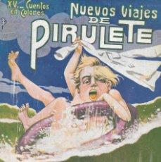 Libros antiguos: PIRULETE CUENTO INFANTIL AÑOS 20 ILUSTRACIONES DE ASHA. ED R. SOPENA . Lote 76788323