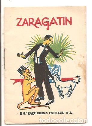 CUENTOS DE CALLEJA - ZARAGATIN - RECREO INFANTIL SERIE V - TOMO 86 (Libros Antiguos, Raros y Curiosos - Literatura Infantil y Juvenil - Cuentos)