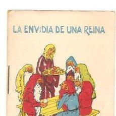 Libros antiguos: CUENTOS DE CALLEJA - LA ENVIDIA DE UNA REINA - RECREO INFANTIL SERIE V - TOMO 97. Lote 77421185