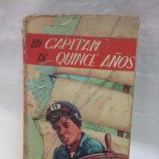 Libros antiguos: LIBRO - UN CAPITÁN DE QUINCE AÑOS - JULIO VERNE - EDICIONES PAULINAS - AÑO 1964. Lote 77492717
