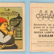 Libros antiguos: CUENTO OSRAM Nº 4 - LA URRAQUITA - INFANTIL RIVADENEYRA - SERIE B LILIPUT. Lote 78392457