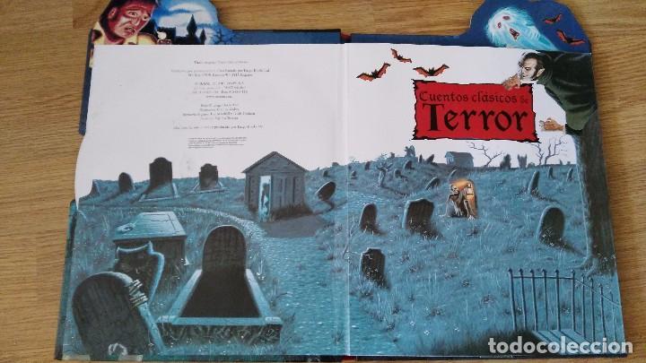 Libros antiguos: CUENTOS CLASICOS DE TERROR - con desplegables terrorificos-susaeta ediciones-MUY DIFICIL - Foto 2 - 78422049