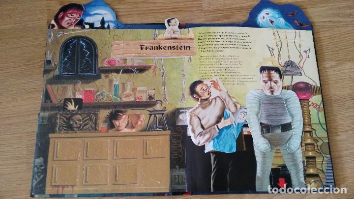 Libros antiguos: CUENTOS CLASICOS DE TERROR - con desplegables terrorificos-susaeta ediciones-MUY DIFICIL - Foto 3 - 78422049