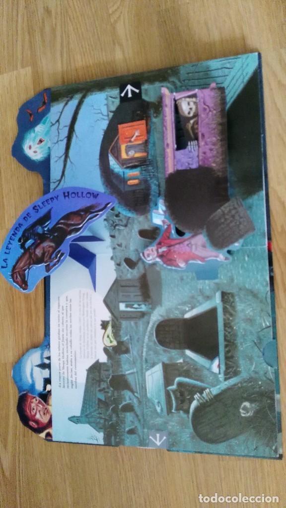 Libros antiguos: CUENTOS CLASICOS DE TERROR - con desplegables terrorificos-susaeta ediciones-MUY DIFICIL - Foto 5 - 78422049