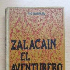 Livros antigos: ZALACAIN EL AVENTURERO, DE PÍO BAROJA. Lote 78597481