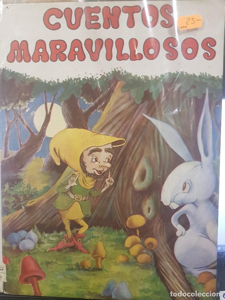 CUENTOS MARAVILLOSOS. CON ILUSTRACIONES (Libros Antiguos, Raros y Curiosos - Literatura Infantil y Juvenil - Cuentos)