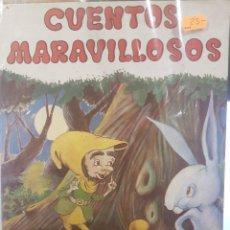 Libros antiguos: CUENTOS MARAVILLOSOS. CON ILUSTRACIONES. Lote 79140853