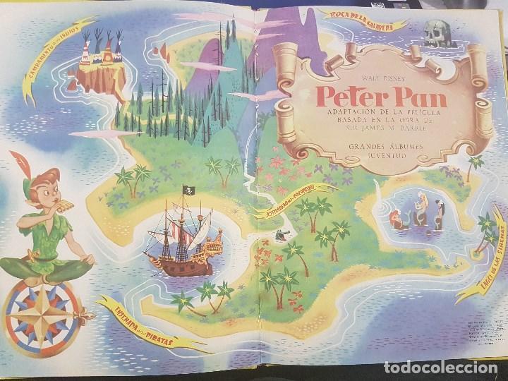 Libros antiguos: PETER PAN . WALT DISNEY. CON ILUSTRACIONES. - Foto 2 - 79144061