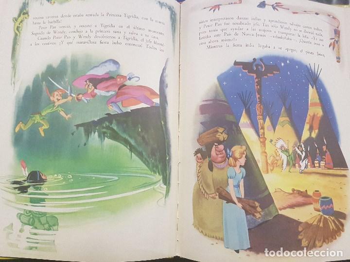 Libros antiguos: PETER PAN . WALT DISNEY. CON ILUSTRACIONES. - Foto 3 - 79144061