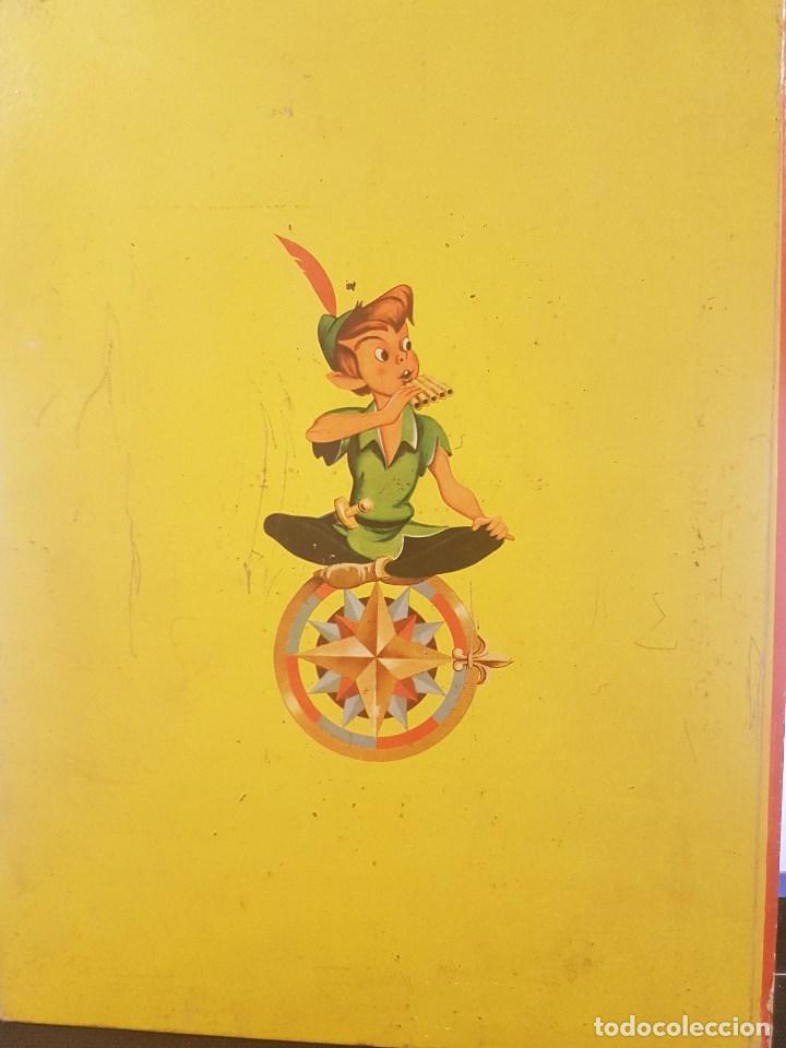 Libros antiguos: PETER PAN . WALT DISNEY. CON ILUSTRACIONES. - Foto 4 - 79144061