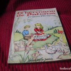 Libros antiguos: PRECIOSO LIBRO DE LECTURA INFANTIL.JOSÉ MARI EL HERMANO DE PALOMA.POR MARISA VILLARDEFRANCOS. Lote 79550101