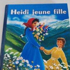 Libros antiguos: HEIDI - JEUNE FILLE - FLAMMARION. Lote 80198457