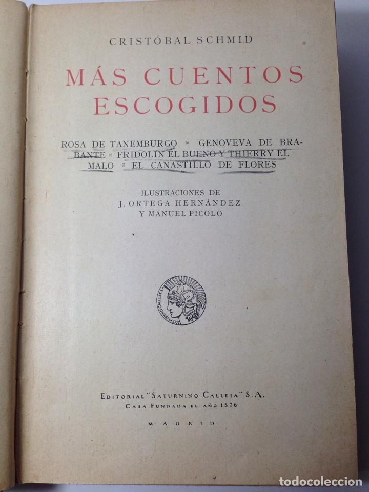 Libros antiguos: Mas cuentos de Schmid Saturnino Calleja - Foto 4 - 80480575