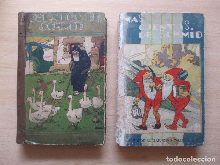 CUENTOS DE SCHMID – MÁS CUENTOS DE SCHMID (2 VOLS.) (Libros Antiguos, Raros y Curiosos - Literatura Infantil y Juvenil - Cuentos)
