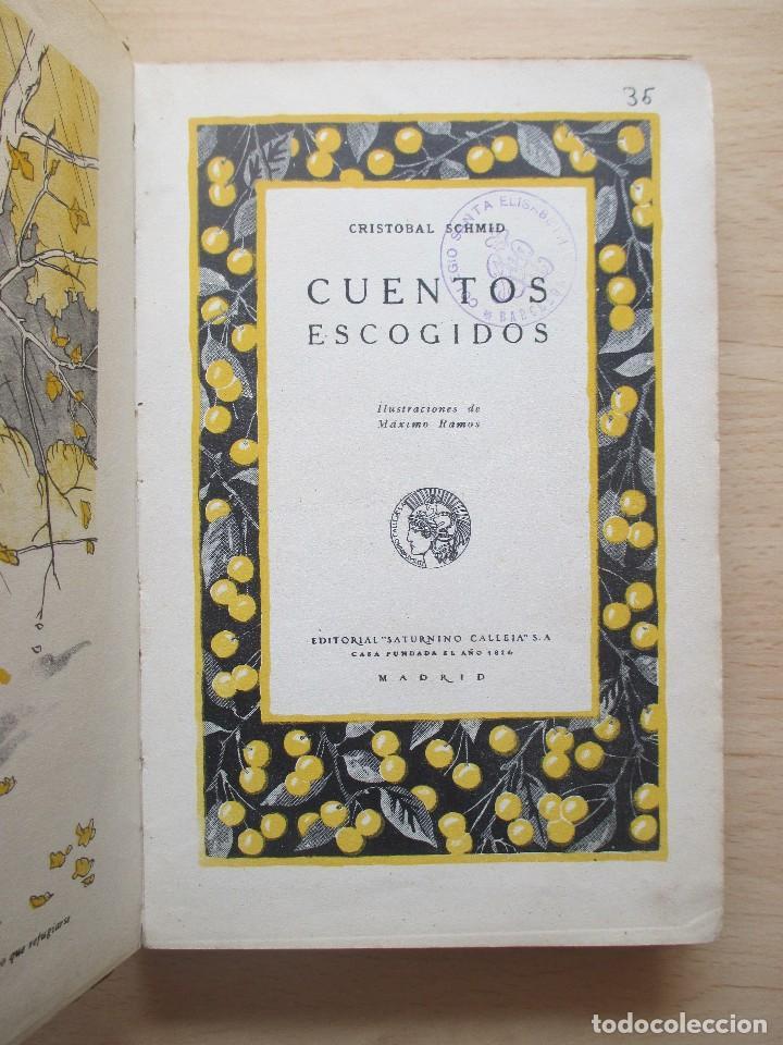 Libros antiguos: Cuentos de Schmid – Más cuentos de Schmid (2 vols.) - Foto 4 - 80731510