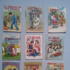 Libros antiguos: LOTE DE 9 CUENTOS DE LA EDITORIAL SATURNINO CALLEJA ANTIGUOS.. Lote 80749978