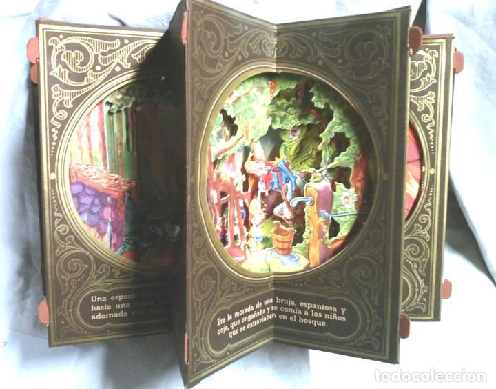 Libros antiguos: Cuento diorama La Casita de Azucar Colección Radial año 41, Biblioteca Dioramica Edit Roma. POP UP - Foto 2 - 82861796