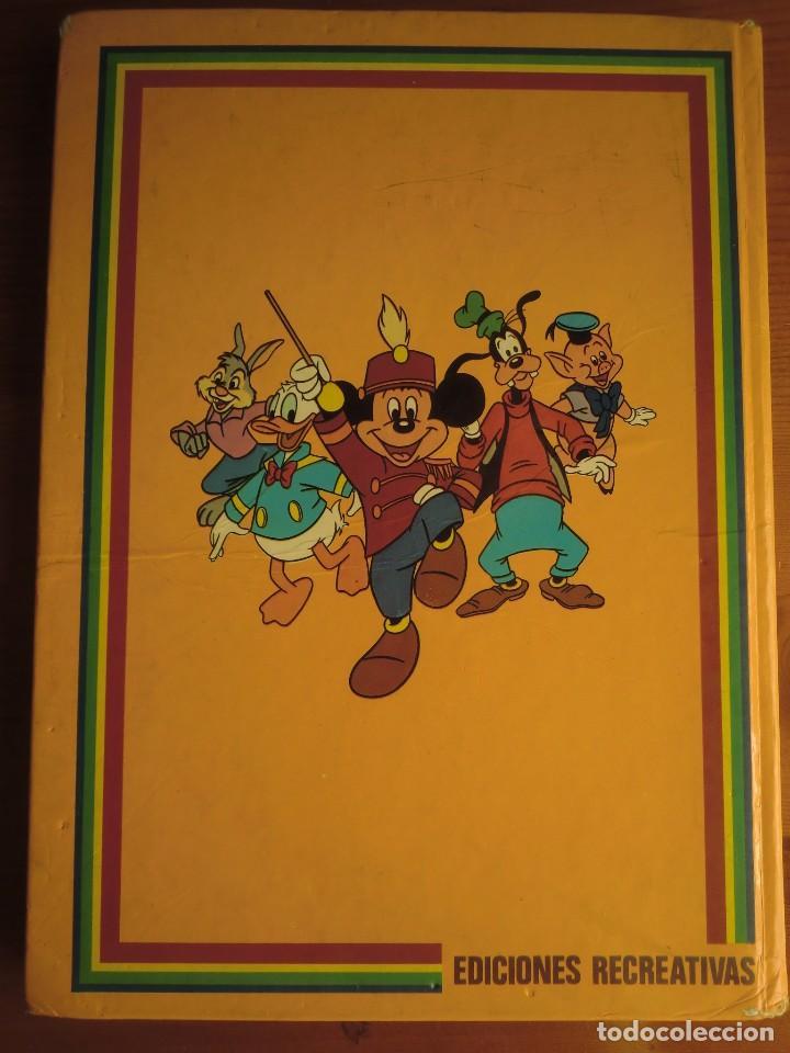 Libros antiguos: Libro WALT DISNEY CUENTA: EL DRAGÓN CHIFLADO y LAS JUDÍAS MÁGICAS (1980) Ediciones Recreativas. Nº 1 - Foto 2 - 82984748