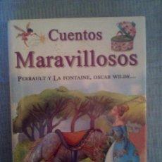 Libros antiguos: LIBRO CUENTOS MARAVILLOSOS 12 CUENTOS CLASICOS. Lote 83007856