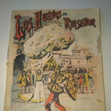 Libros antiguos: LOS HUEVOS DE RUISEÑOR, CUENTOS DE CALLEJA- ORIGINAL - CUENTOS PARA NIÑOS. Lote 83304407