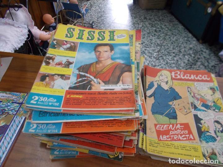 LOTE DE CUENTOS ,SON 137 SISI Y 24 BLANCA, SON TODOS DE LOS AÑOS 50-60 (Libros Antiguos, Raros y Curiosos - Literatura Infantil y Juvenil - Cuentos)