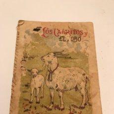 Alte Bücher - Calleja/Cuentos LOS CABRITOS Y EL LOBO S-IV. Tomo 80 - 84117406