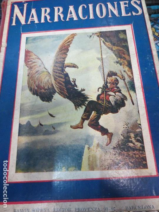 NARRACIONES S.H. HAMER EDIT RAMÓN SOPENA AÑO 1917 (Libros Antiguos, Raros y Curiosos - Literatura Infantil y Juvenil - Cuentos)