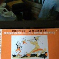 Libros antiguos: CONTES ANIMATS - PETER PAN I WENDY - ED. JOVENTUT - 1935 APROX.. Lote 84352348