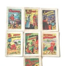 Libros antiguos: 7 CUENTOS TESORO DE CUENTOS SERIE 16 Nº 1, 2, 3, 4, 5, 7 Y 8, EDITORIAL BRUGUERA AÑO 64. Lote 84924080