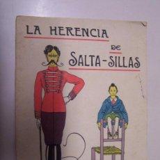 Libros antiguos: LA HERENCIA DE SALTA-SILLAS. CUENTOS DE CALLEJA EN COLORES 4ª SERIE. ED. SATURNINO CALLEJA, AÑO 1933. Lote 86103460