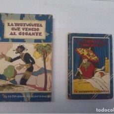 Libros antiguos: EDITORIAL CALLEJA: LA TORTUGUITA QUE VENCIÓ AL GIGANTE (1936) Y LOS CUENTOS DEL FERNANDILLO. Lote 86184516
