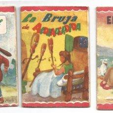 Libros antiguos: 3 CUENTOS MINIATURA .- EDITORIAL ROMA Nº 13 , 20 , 23 .- ILUSTRADOR NIETO. Lote 86293980