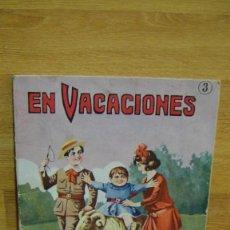 Libros antiguos: EN VACACIONES , LIBRO DE COLOREAR- EDITORIAL SOPENA. Lote 86732328