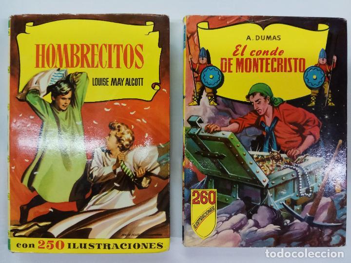Libros antiguos: LOTE 7 LIBROS, 6 LIBROS COLECCION HISTORIAS, BRUGUERA Y 1 COLECCION CADETE INFANTIL, S. GERVASIO, - Foto 6 - 86838368