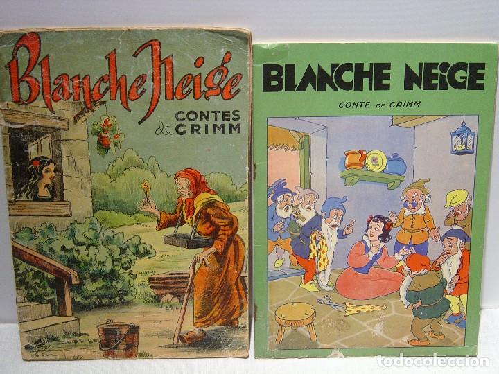 BLANCHE NEIGE - DOS ANTIGUOS CUENTOS EN FRANCÉS - BLANCANIEVES (Libros Antiguos, Raros y Curiosos - Literatura Infantil y Juvenil - Cuentos)