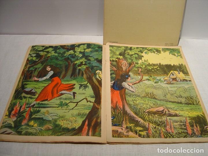 Libros antiguos: BLANCHE NEIGE - DOS ANTIGUOS CUENTOS EN FRANCÉS - BLANCANIEVES - Foto 5 - 87472664
