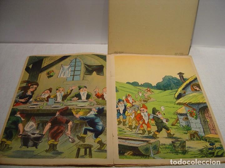 Libros antiguos: BLANCHE NEIGE - DOS ANTIGUOS CUENTOS EN FRANCÉS - BLANCANIEVES - Foto 6 - 87472664