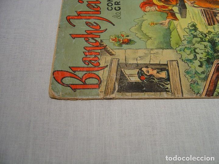 Libros antiguos: BLANCHE NEIGE - DOS ANTIGUOS CUENTOS EN FRANCÉS - BLANCANIEVES - Foto 7 - 87472664