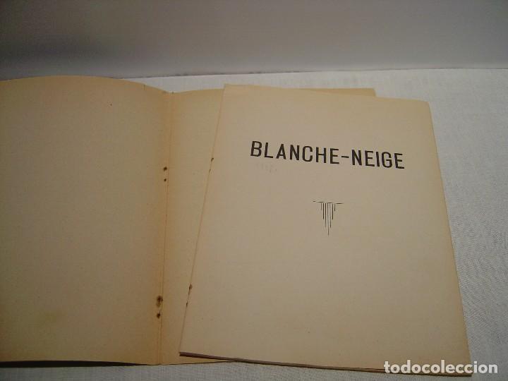 Libros antiguos: BLANCHE NEIGE - DOS ANTIGUOS CUENTOS EN FRANCÉS - BLANCANIEVES - Foto 9 - 87472664