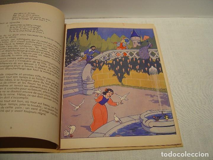 Libros antiguos: BLANCHE NEIGE - DOS ANTIGUOS CUENTOS EN FRANCÉS - BLANCANIEVES - Foto 10 - 87472664