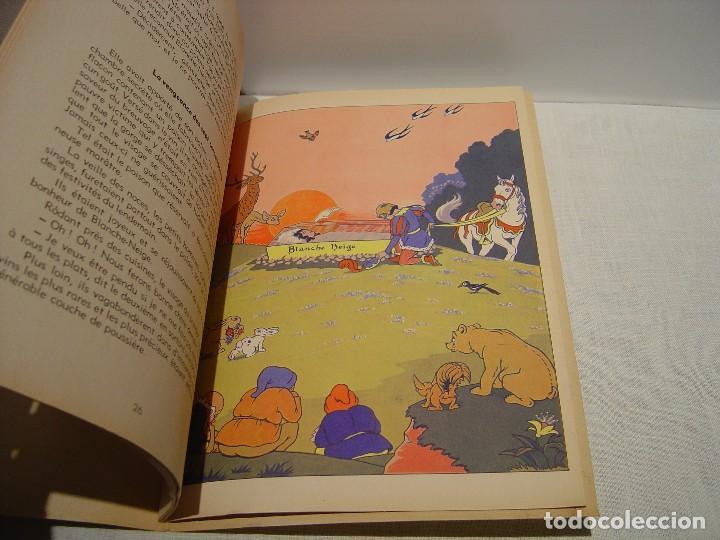 Libros antiguos: BLANCHE NEIGE - DOS ANTIGUOS CUENTOS EN FRANCÉS - BLANCANIEVES - Foto 11 - 87472664